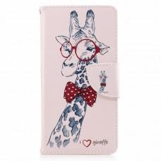 Sony Xperia XZS kožený obal Giraffe