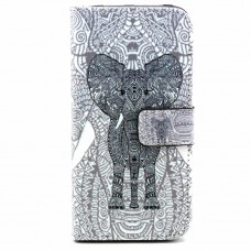 Asus Zenfone 2 kožený obal Black Elephant