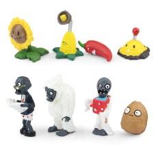 JMS Plants Vs Zombies figurky 8ks - SKLADEM