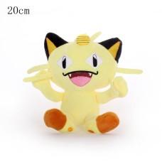 Pokémon plyšák Meowth 20 cm - SKLADEM