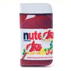Nokia Lumia 520, 525 kožený obal Nutella