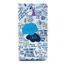 Samsung Galaxy Ace 4 kožený obal OKAY