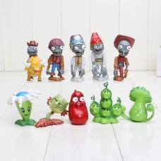 Figurky JMS Plants Vs Zombies sada 10ks - SKLADEM