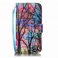 Sony Xperia XA kožený obal Rainbow Tree