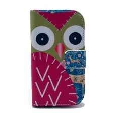 LG Nexus 5 kožený obal Red Owls