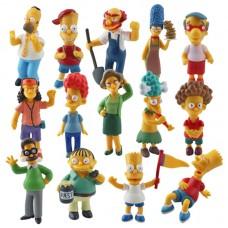 Figurky JMS Simpsonovi sada 14ks - SKLADEM