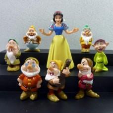 Figurky JMS Sněhurka a sedm trpaslíků sada 8ks - SKLADEM
