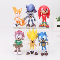 Figurky Sonic sada 6ks