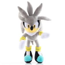 Sonic plyšák Silver 30cm - SKLADEM