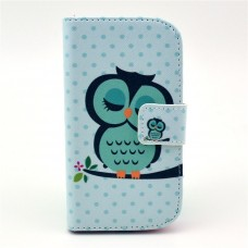 iPhone 6 kožený obal Sleeping Owl - SKLADEM