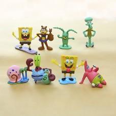 Figurky SpongeBob sada 8ks - SKLADEM