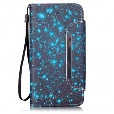 Samsung Galaxy Core Prime kožený obal Blue Stars