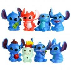 Figurky Stitch sada 8ks