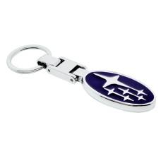 Subaru přívěsek na klíče silver - SKLADEM