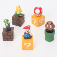 Figurky Super Mario sada 5ks