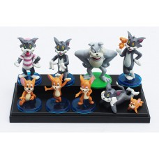 Figurky JMS Tom and Jerry sada 9ks - SKLADEM