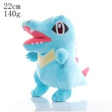 Pokémon plyšák Totodile 22 cm - SKLADEM