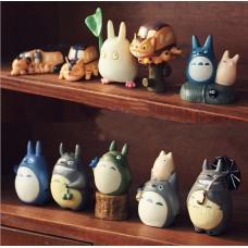 Figurky Totoro sada 10ks