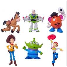 Figurky JMS Toy Story sada 6ks - SKLADEM