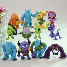 Univerzita pro příšerky figurky sada 12ks - SKLADEM