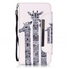 Samsung Galaxy Core Prime kožený obal Giraffe