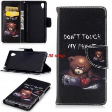 Sony Xperia XZS kožený obal Bear